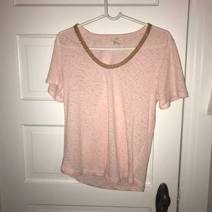 Jcrew Embellished Tshirt